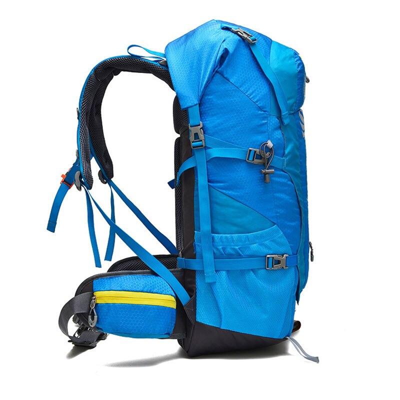 Sac à dos de randonnée en plein air 50L sac à dos de Camping sac de voyage pour femmes sac à dos en Nylon de haute qualité pour voyage Camping DSB0006