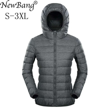 NewBang Ultra Light Down Jacket Women Duck Down