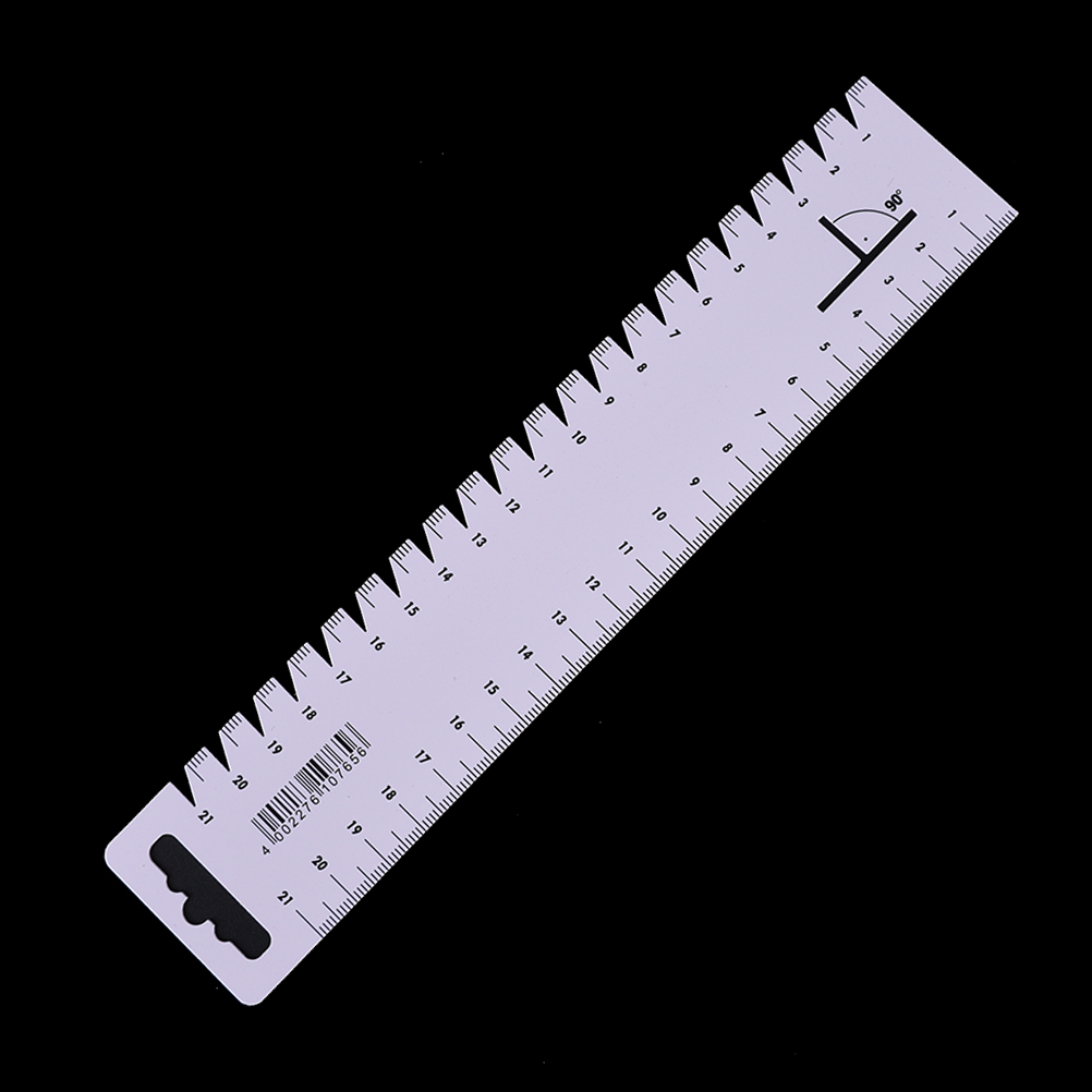 1PC DIY Patchwork Ruler Ultrathin Soft 21cm Sewing Tools Accessories Quilting Tools Handmade