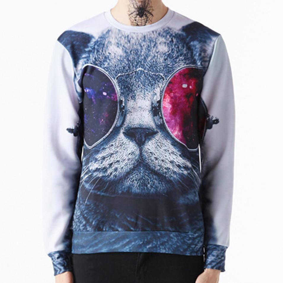 2017 Spring New Fashion <font><b>Women</b></font> <font><b>Men</b></font> 3D <font><b>Sweatshirt</b></font>.Sexy Clothes <font><b>Animal</b></font> <font><b>Cat</b></font> Dog Panda Marilyn Monroe <font><b>Printed</b></font> Hoodies Plus Size S-XL