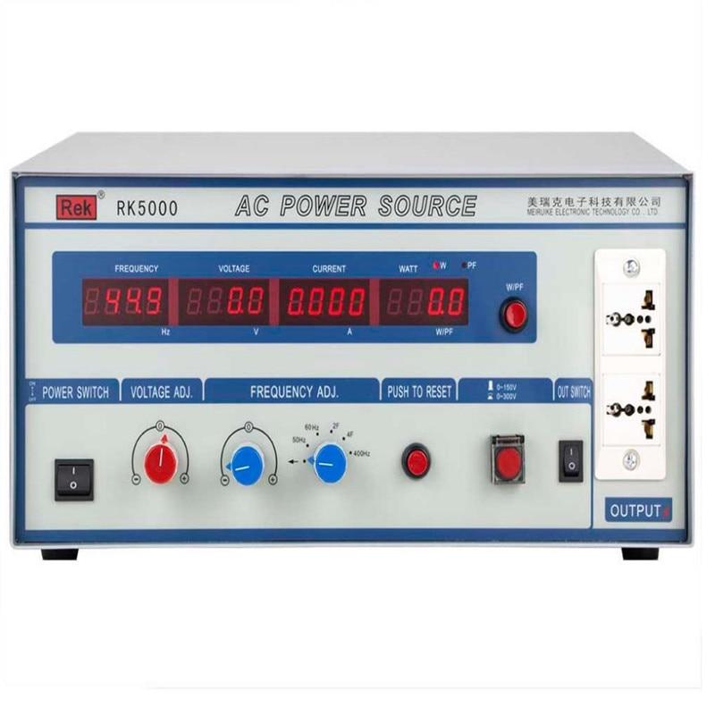 Źródła prądu przemiennego RK5000 o zmiennej częstotliwości zasilania zasilanie miernik ciśnienia interfejs skanowania probierczej tester odporność na elektroniki parametr Audio w Przemienniki i przetworniki od Majsterkowanie na AliExpress - 11.11_Double 11Singles' Day 1