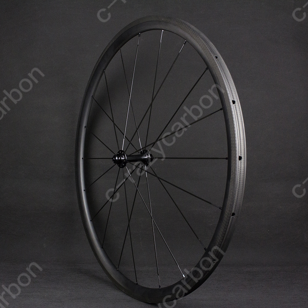 Good Special Brake Track Top Level 700c U Shape 30mm Tubular/clincher Superlight Carbon Bicycle Wheelset Exquisite Traditional Embroidery Art