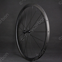 Special Brake Track Top Level 700c U Shape 30mm Tubular/Clincher Superlight Carbon Bicycle Wheelset Free Shipping on Sale