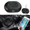 Sem fio Bluetooth Estéreo de 3.5mm de Áudio AUX Adaptador Receptor de Música Speaker Mic Car