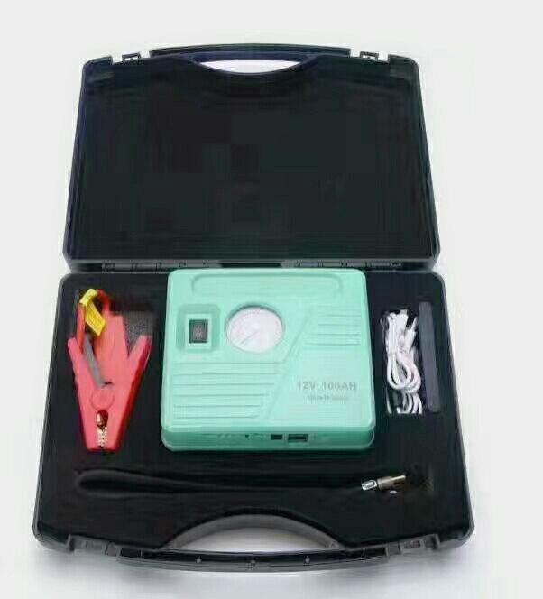 все цены на New Car Jump Starter Air Pump 12V Emergency Lighter Starting Device Car Charger For Car Battery Booster Power Bank онлайн
