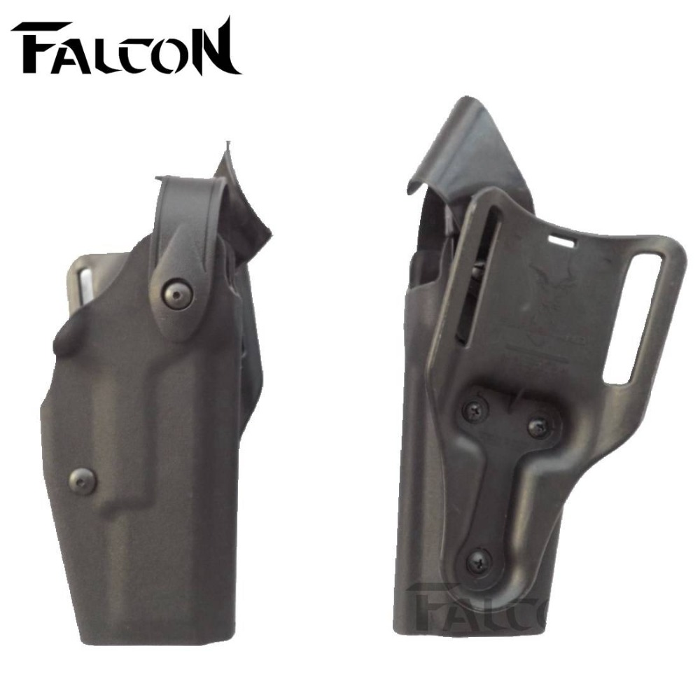 FS Marque style NOUS Tactique Ceinture étuis de Pistolet Glock 17 Holster  Militaire Airsoft Police Armée Compact RH Ceinture étui 4bcf8731ed5