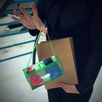 Medium Size Super Delux Paper Bag Appearing Flower Empty From Box Magic Tricks Dream Bag Illusion