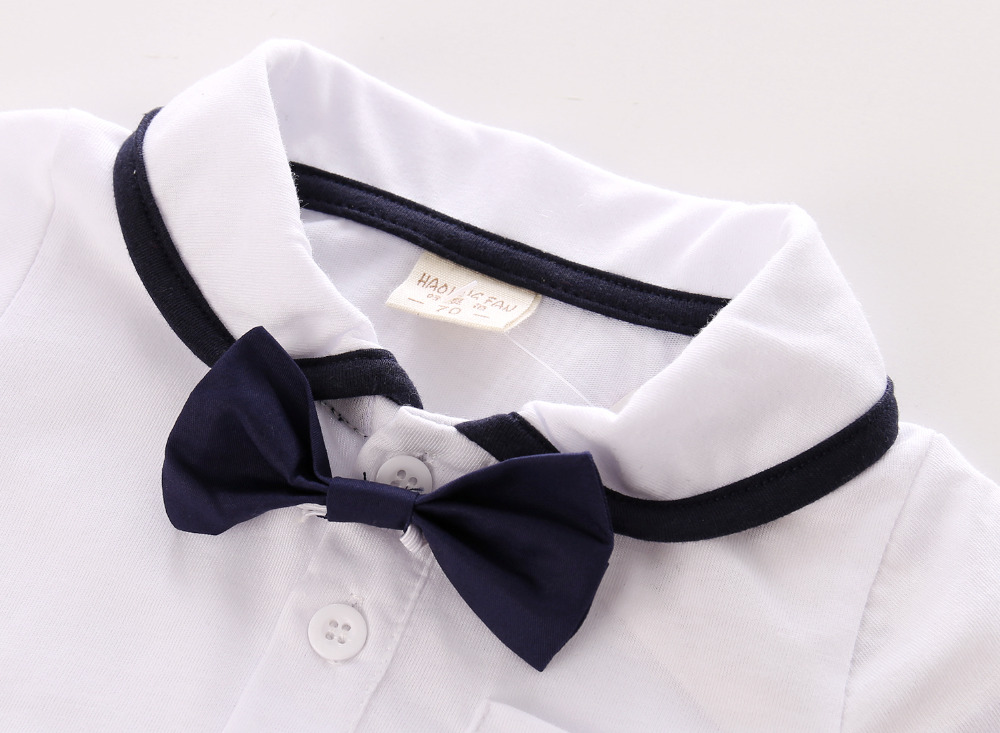 2017-New-baby-boy-clothing-fashion-Gentleman-modelling-suit-baby-white-short-sleeved-T-shirtstrap-pants-2pcs-baby-boy-clothes-2