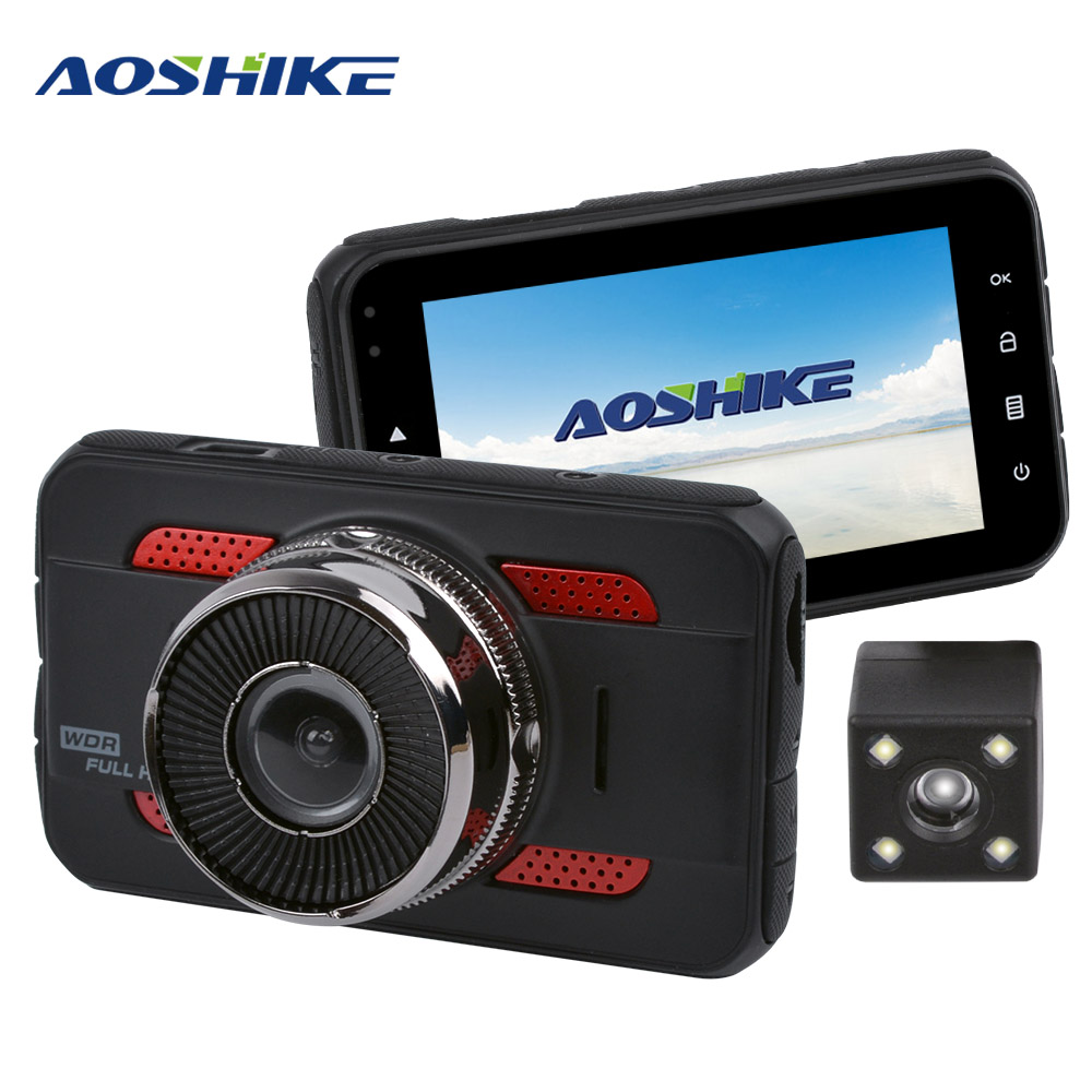 AOSHIKE 3 InchTouch HD 1080P Car Rearview Mirror Recorder 720P Single Record Display Car DVR Vehicle Camera TFT LCD