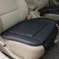 Leather Car Seat Cover Four Seasons General Monolithic Summer Slip Mat Car Seat Cushion PU Leather