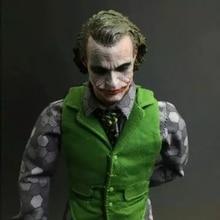1/6 Scale Heath Ledger Head Sculpt Batman Joker MJ12 head for 12inch Action figure Phicen Hottoy Collection