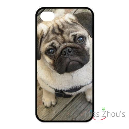 For Samsung Galaxy mini S3/4/5/6/7 edge plus Note2/3/4/5 mobile cellphone cases cover Funny Toy Dog Pug ...