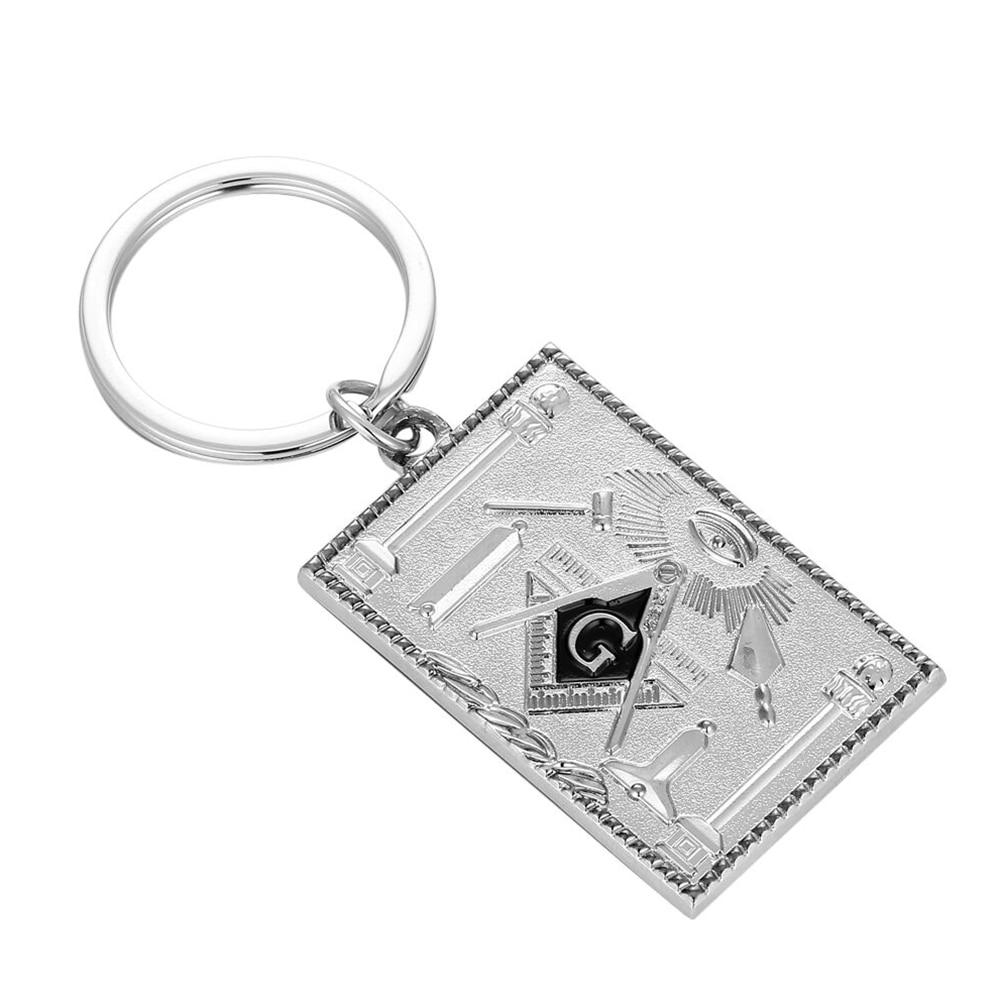 Freemason Mason Masonic Keychain Keyrings