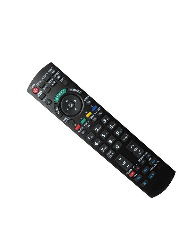 Пульт дистанционного управления для panasonic tx-p50u30j tx-p50x20b tx-p50x20l tx-p50x20y n2qayb000489 n2qayb000490 tx-l32e30 lcd hdtv телевизор