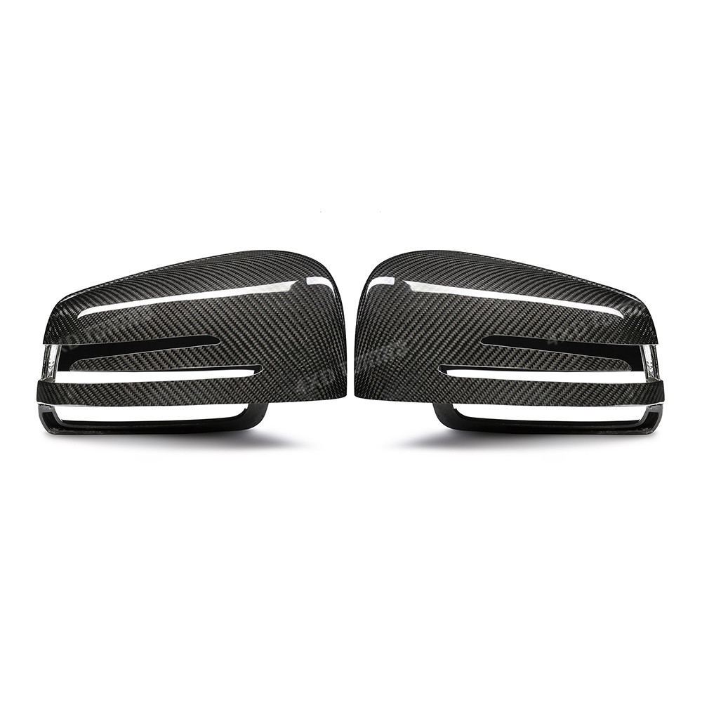 For Mercedes A B C E S CLA CLS GLK Class Dry Carbon Mirror Cover W204 W176 W212 W117 W218 Carbon Rear View caps Mirror Cover цены