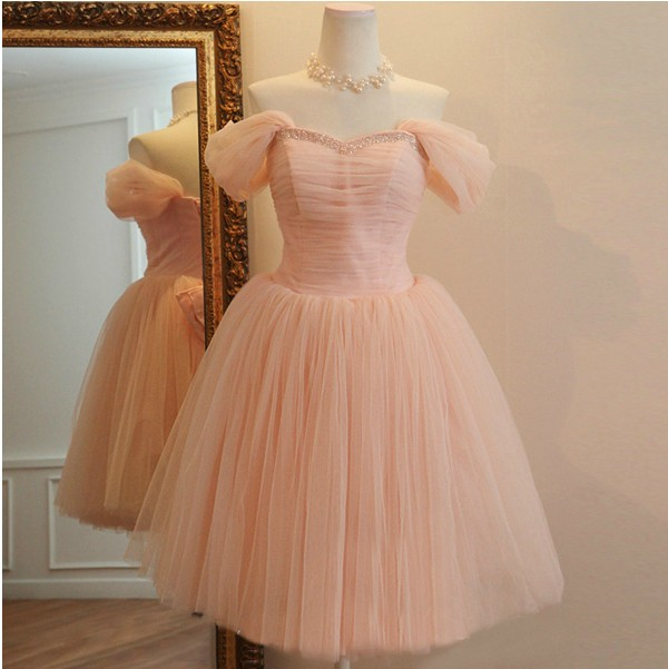 Beautiful-Pink-Tulle-Poofy-Princess-Dresses-Short-TUTU-Dress-Dress-for-Wedding-Cheap-Price