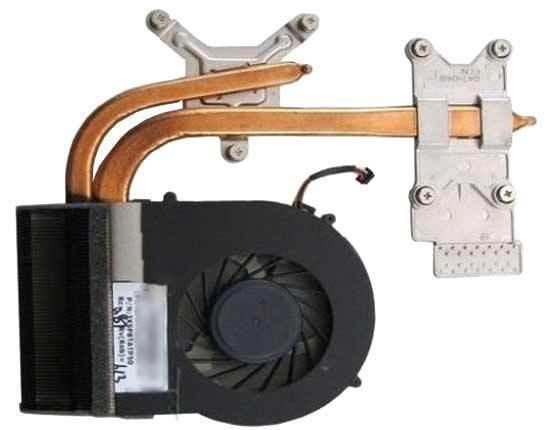 Новый Для HP Envy 17-2000 17-2200 17-2100 17T-2000 Охлаждения Вентилятора радиатора 633077-001, бесплатная доставка