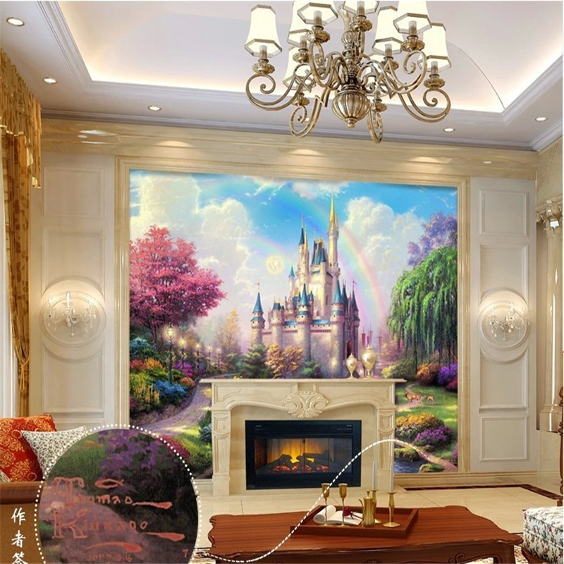 Castle Wall Mural online get cheap fantasy castle wall mural -aliexpress