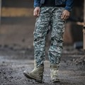 2016 Spring Fashion Camo Cargo Pants Military Style Pockets Loose Mountain Tactical Trainning Trousers Joggers Erkek Pantolon