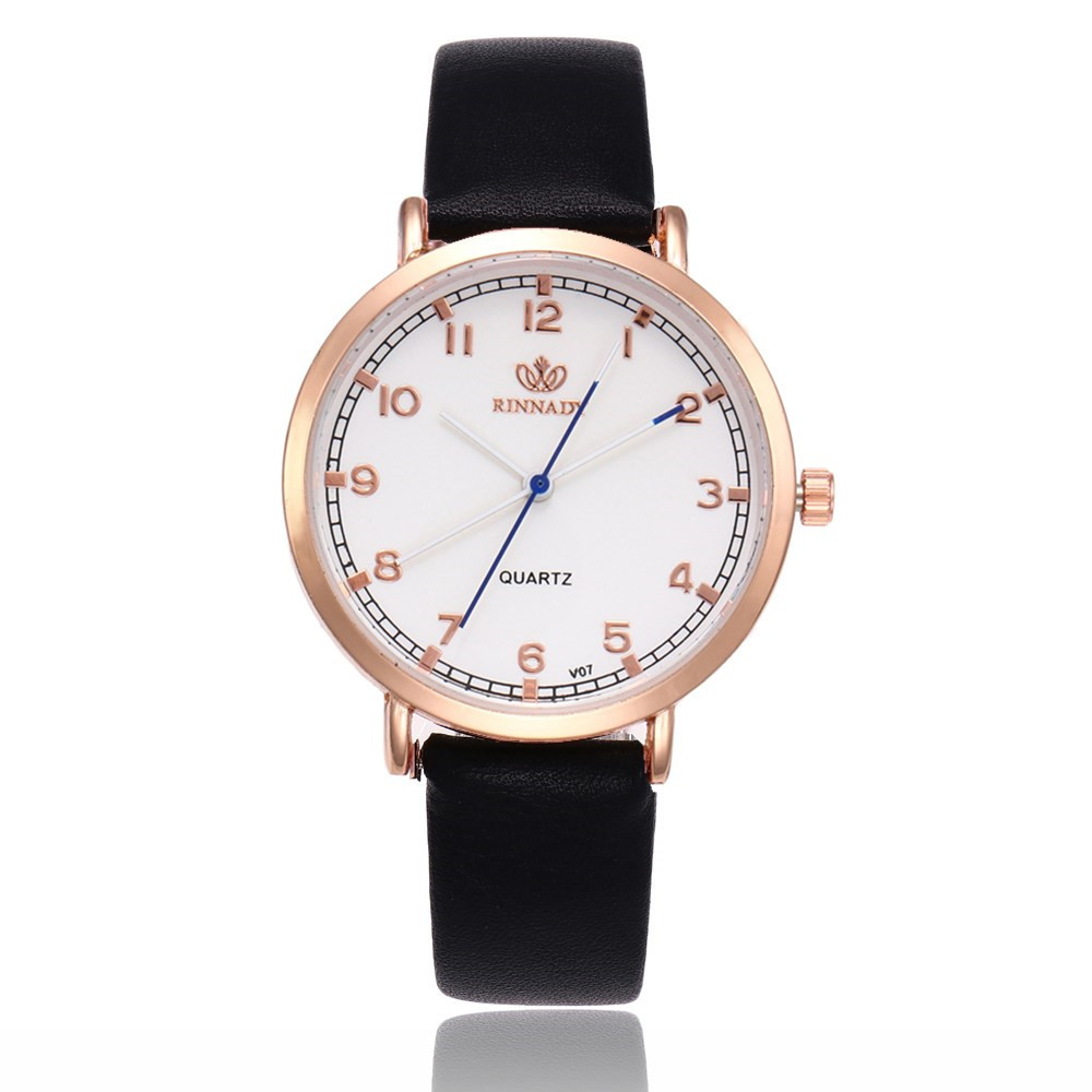 <font><b>Fashion</b></font> <font><b>Unisex</b></font> <font><b>Montre</b></font> <font><b>Femme</b></font> <font><b>Reloj</b></font> <font><b>Mujer</b></font> <font><b>Leather</b></font> Watch Wholesale Quartz Wrist Watches Women Shipping relogio bayan kol saati image