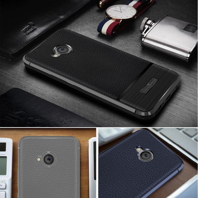 reputable site 61936 b3b5c US $2.49 40% OFF|For HTC U11 Life Cover HTC U11 Life Case HTCU11Life  Original Silicone Leather Coated Protective Soft Shell-in Half-wrapped Case  from ...