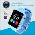 Дети Безопасности Anti Потерянный GPS Трекер smart watch V7K 1.54 ''С камерой facebook Дети SOS Аварийного Для Iphone & Android PK Q90