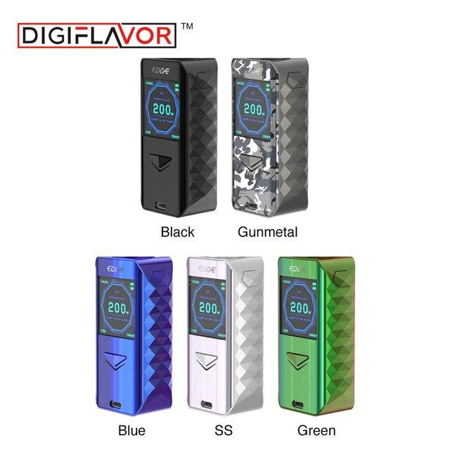 Digiflavor Edge Mod Electronic Cigarette Vape Vaporizer Mod advanced AS chipset fast wireless charging mod fit
