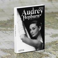 30 vellen/LOT Audrey Hepburn Postkaart/Wenskaart/wish Card/Mode Gift