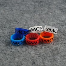 500pcs Smok silicone rubber ring band for mechanical mod andsilicone vape band rings decorative protection box mod