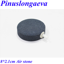 Pinuslongaeva Factory outlet Diameter 8cm Gas liquid mixer Ozone resistance Bubble stone Air stone for ID 6mm Teflon tube цена и фото