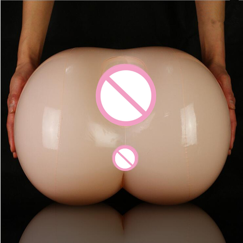 Newest! Easy To Store And Clean Inflatable Big Ass Detachable Vagina Can Be Filled With Warm Water Adult <font><b>Sex</b></font> Toy image