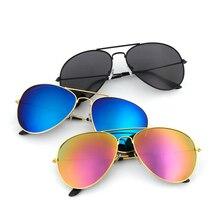 Aviation Metail Frame Oversized Sunglasses Spring Leg Alloy Men Sunglass Polarized Brand Design Pilot Female Sun Glasses Driving