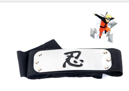 Аниме повязка Naruto Leaf деревенская лого Konoha Uchiha Itachi kacashi Akatsuki для членов косплей костюм аксессуары - Цвет: Зеленый