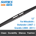"Rear Wiper Blade for Mitsubishi Grandis (2004-2011)12"" RB610"