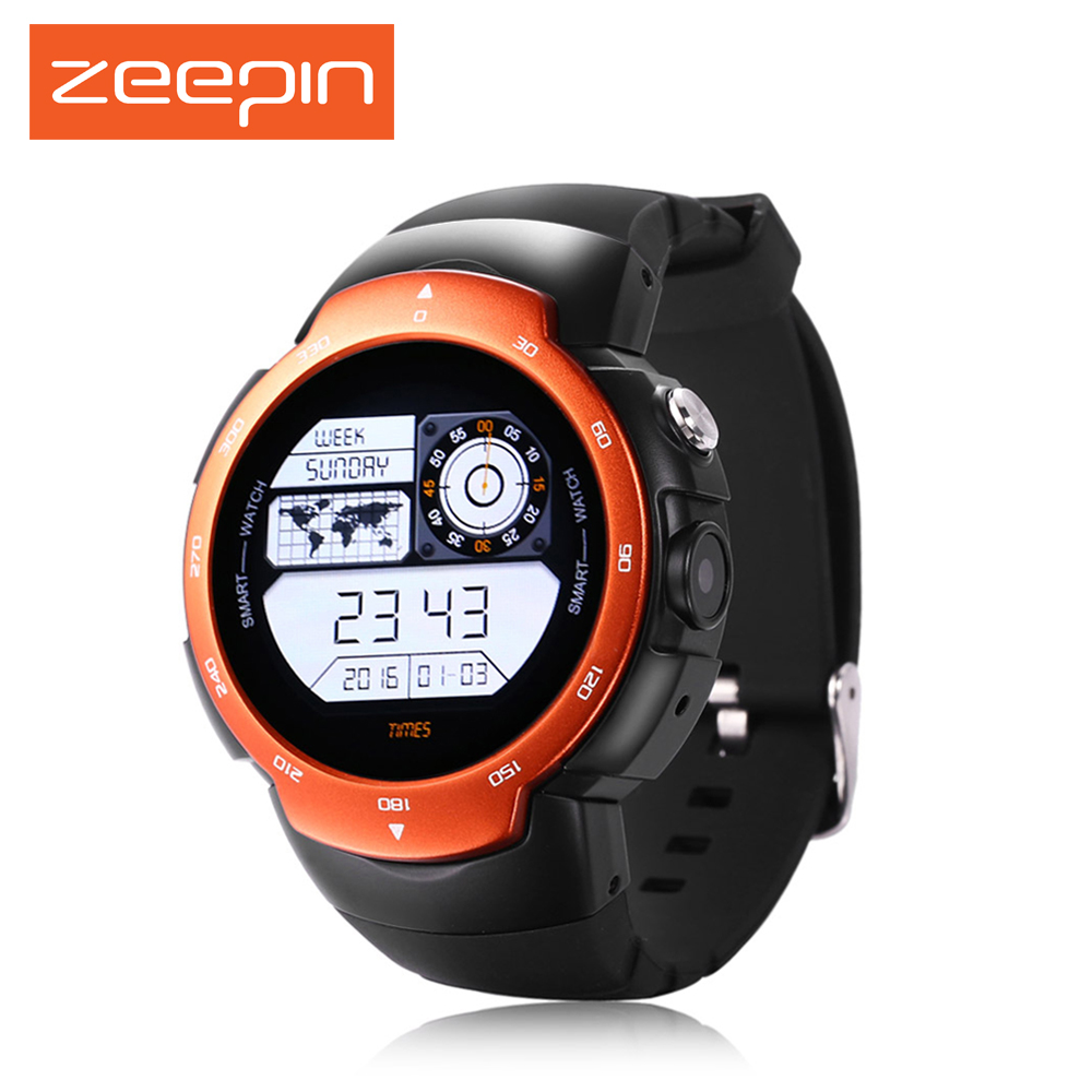 Zeepin Blitz Smartwatch Android 5.1 3G GPS MTK6580 Waterproof Quad Core Single camera Watch Phone Heart Rate Monitor For Android no 1 d6 1 63 inch 3g smartwatch phone android 5 1 mtk6580 quad core 1 3ghz 1gb ram gps wifi bluetooth 4 0 heart rate monitoring