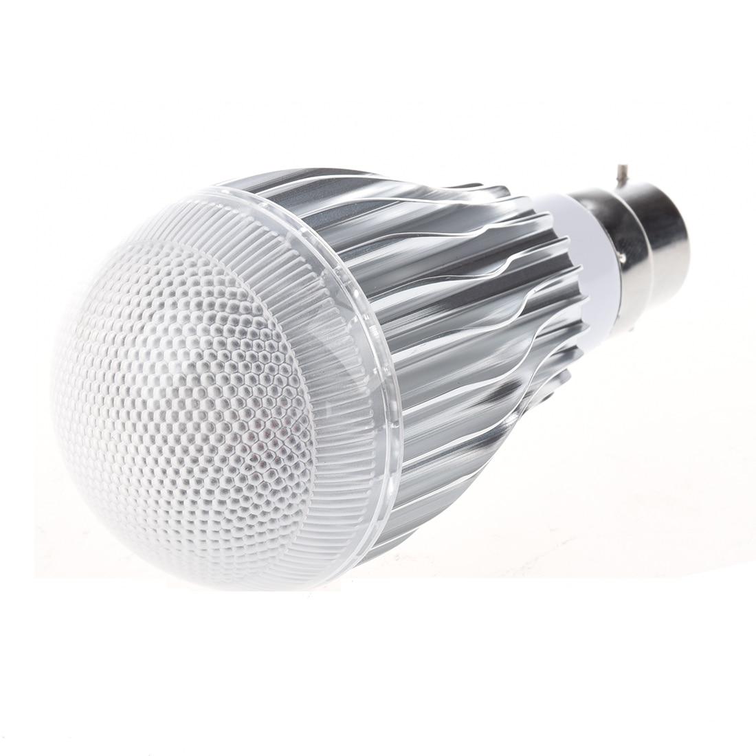 9W B22 100-240V Remote Control Color Changing RGB LED Light Bulb Lamp