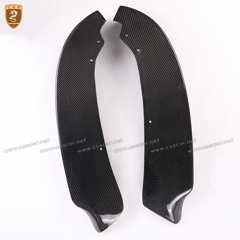 P style Carbon Fiber Front Bumper Lip Splitters For BMW 3 Series E90 318i 320i 325i 2008 2009 2010 2011 Car Accessories bathroom mirror 8 dual makeup mirror 1 1 and 1 3 magnifier square copper cosmetic bathroom double faced bath mirror
