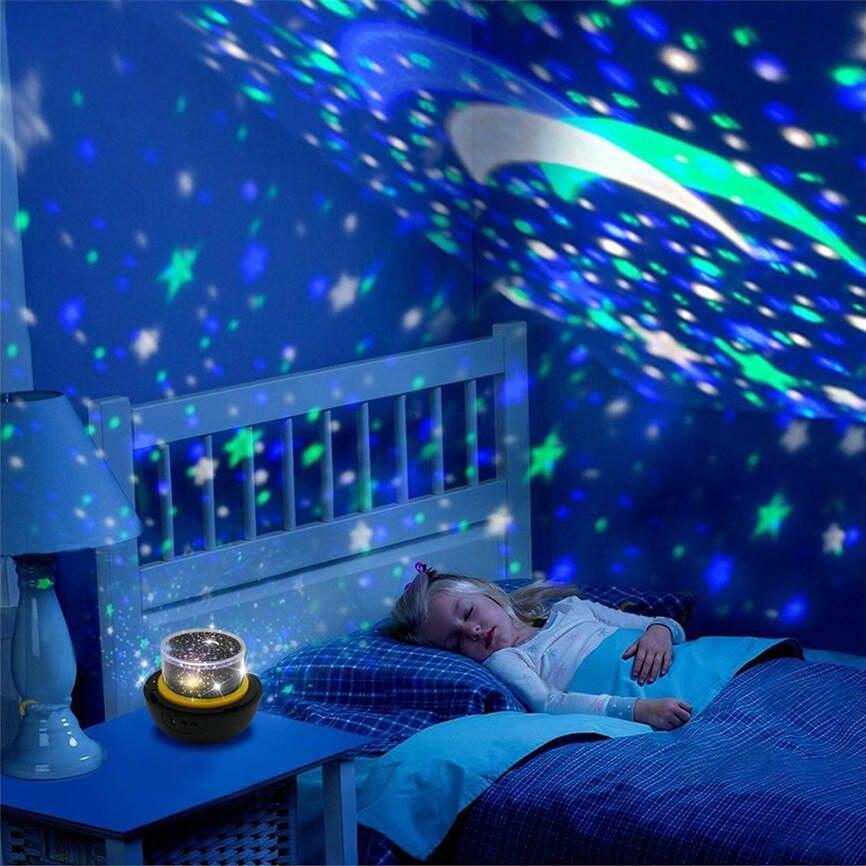 Супер Вселенной ночник USB лампа проектора звезда моря проектор Атмосфера лампы для Спальня дропшиппинг июня #6 ...