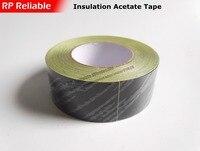1x 50mm 30 Meters Acetate Tape Adhesive Insulation Sticky Hi Temp Resist For LCD Repair Coil