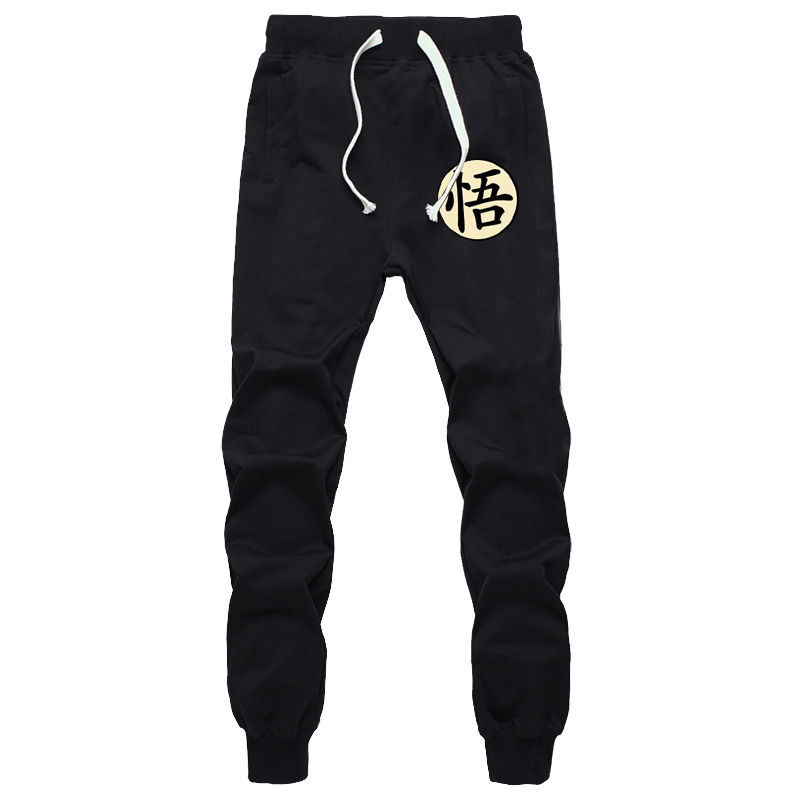Mode dragon ball Z Son Goku Super Saiyan pantalons de survêtement décontracté hip-hop Harem pantalons de survêtement Silm pantalons longs cadeau Cosplay