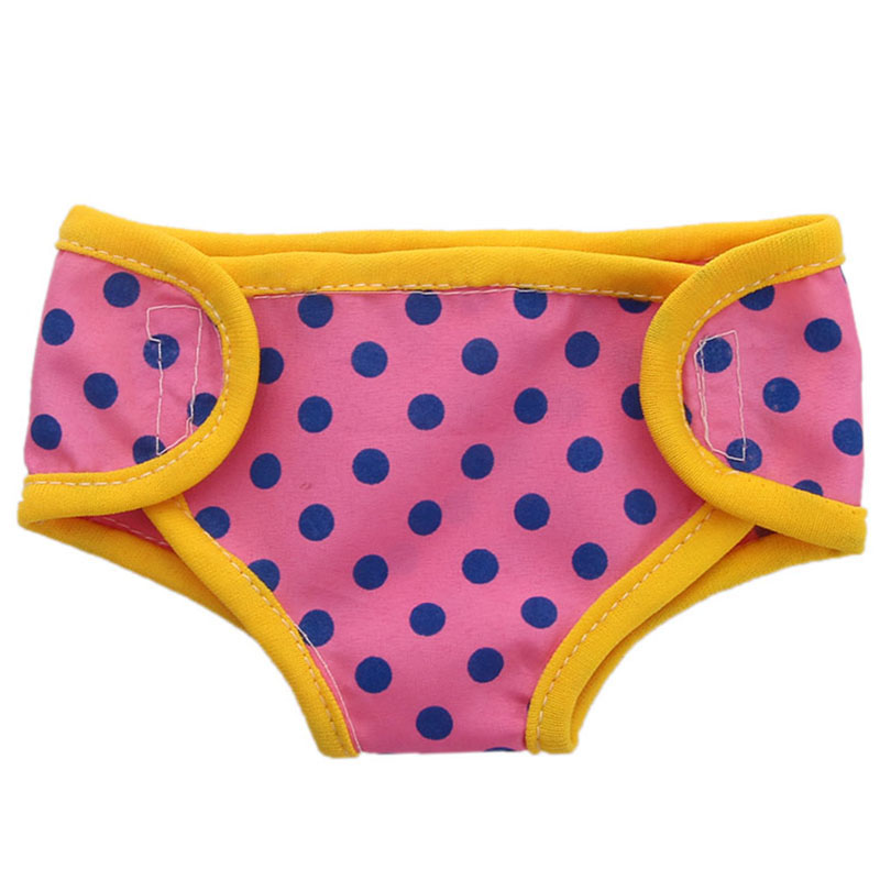 """Polka Dots Underwear fits American Girl Doll 18/"""" Doll Clothes"""