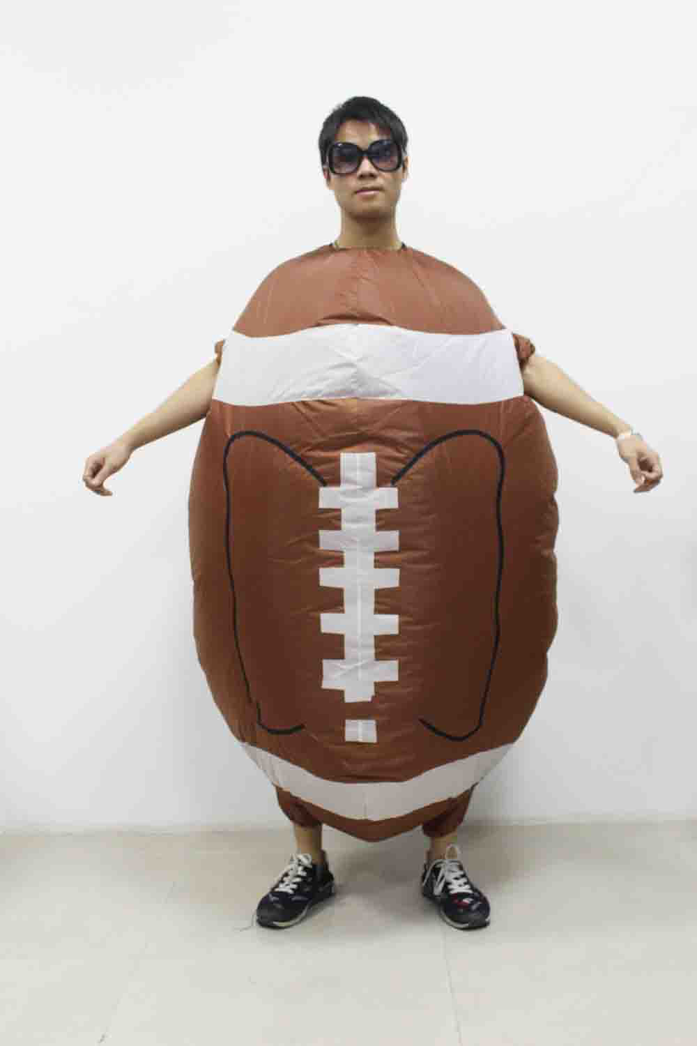 2018 New Sale Rugby Inflatable Costume Halloween Christmas ...