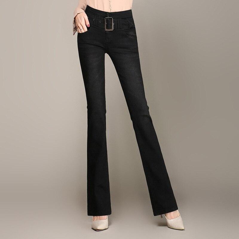 Jeans   for women vintage style female denim pencil pants stretch korean   jeans   for woman 9FR
