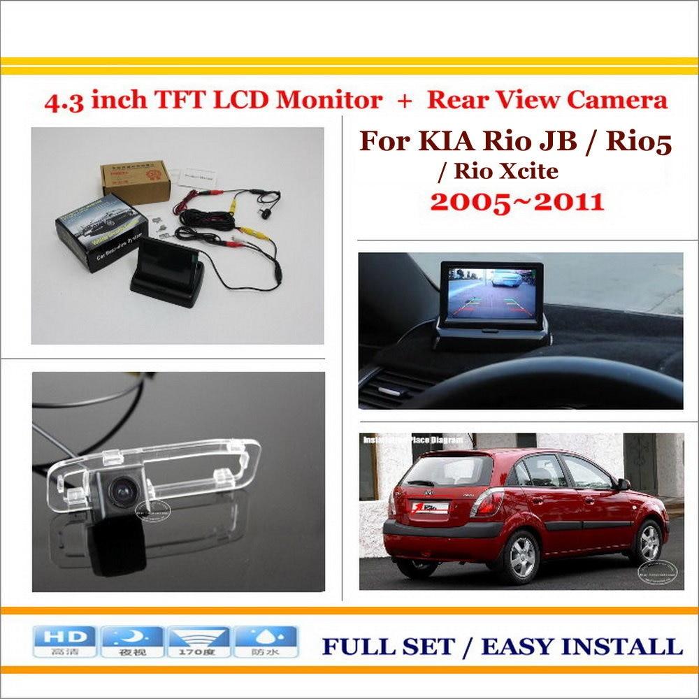 2005-2011 # Right Door Mirror For Kia Rio Jb