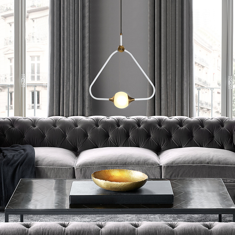 Simple Modern Art Triangle Led Chandelier Nordic Coffee Shop Restaurant Bedroom Study Room Hanging Light Fixtures Free ShippingSimple Modern Art Triangle Led Chandelier Nordic Coffee Shop Restaurant Bedroom Study Room Hanging Light Fixtures Free Shipping
