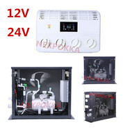 12V/24V Electric Air Conditioner for Automobile,Zero Oil Consumption Electric Air Conditioning, Vehicle Battery Air Conditioning