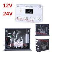 Condicionador de ar bonde de 12 v/24 v para o automóvel  condicionamento de ar bonde do consumo de óleo zero  condicionamento de ar da bateria do veículo|Instalação de ar-condicionado|   -