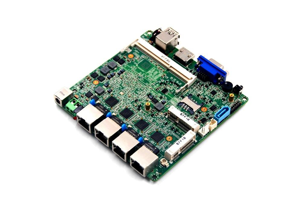 все цены на Baytrail Celeron J1900 Quad core Core 4 Lan Port Industrial Motherboard онлайн