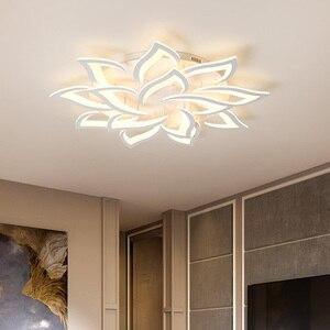 Image 3 - Современные светодиодные потолочные лампы, светильники для столовой, гостиной, украшения дома, лампа для спальни, ресторана, Диммируемый блеск