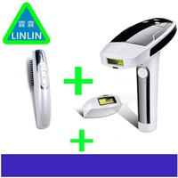 LINLIN Epilator Female Photon Laser Facial Hair Removal Depilatory Shaver Razor Care Tool for Women EU Plug IPL Razor Blade